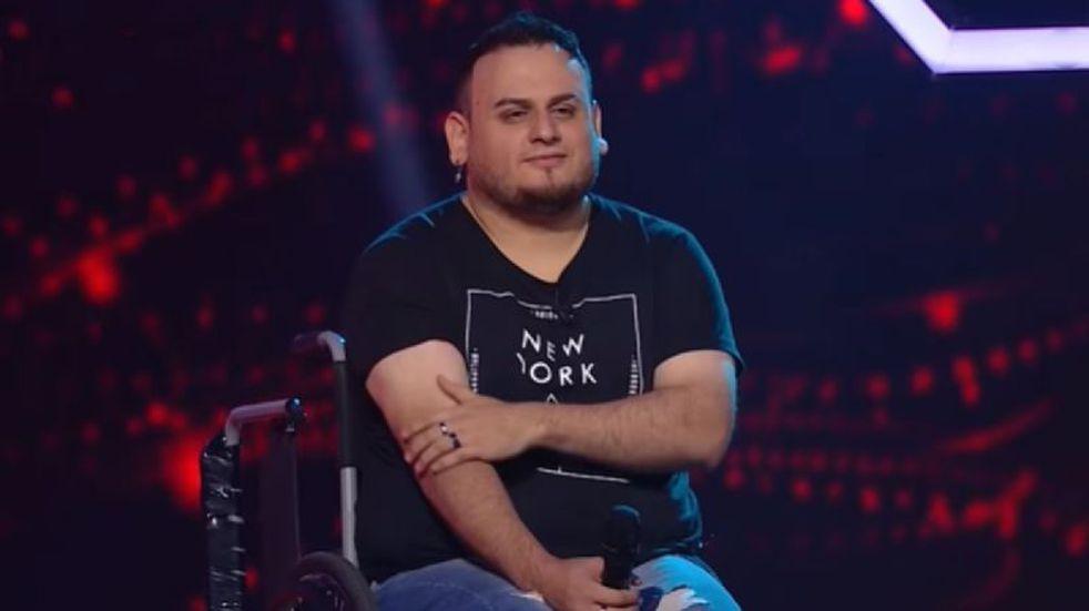 """Pablo Santillán, el participante de """"La Voz Argentina"""" que emocionó a todos con su historia"""