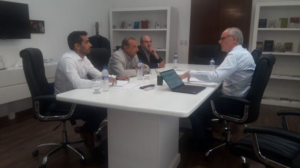 El intendente Sánchez se reunió en La Plata con el Ministro de Salud bonaerense, Daniel Gollan