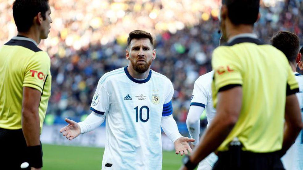 A través de AFA, Lionel Messi le pidió disculpas a la Conmebol