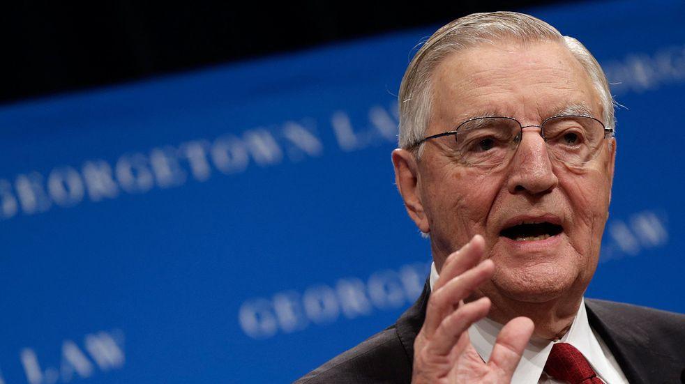 Falleció Walter Mondale, exvicepresidente de Estados Unidos durante el Gobierno de Jimmy Carter