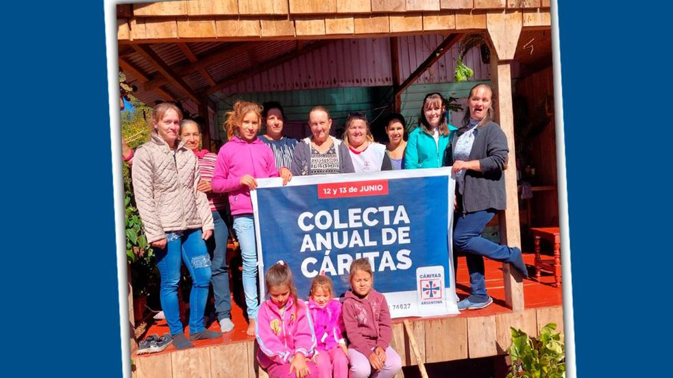 Iguazú: la colecta anual de caritas se hará este fin de semana