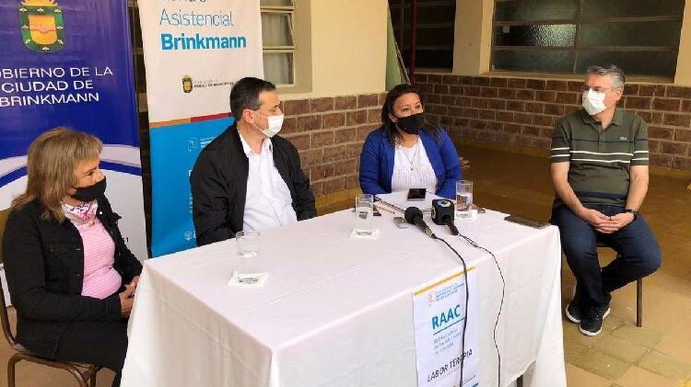 Brinkmann: presentaron el taller de Laborterapia