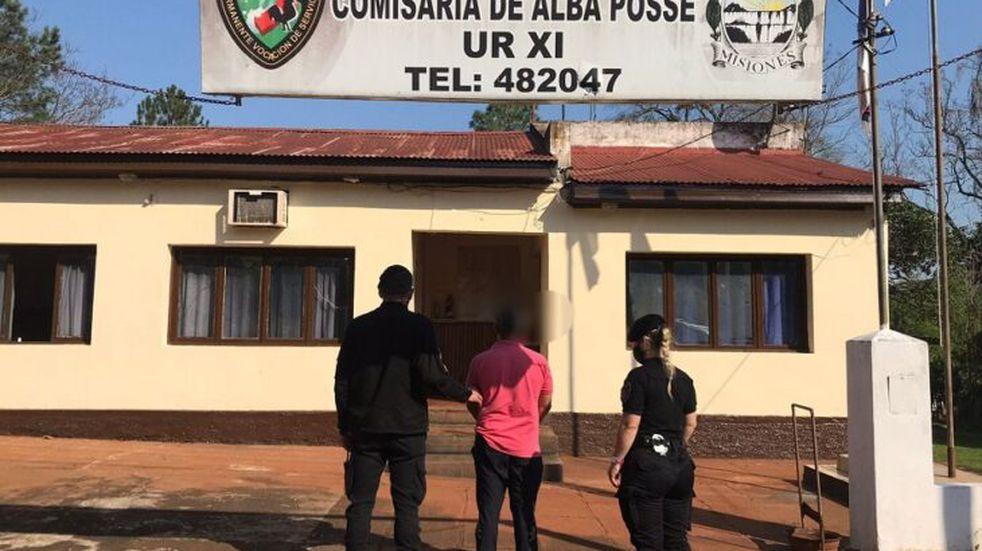 Un hombre acusado por un hecho de robo en Leandro N. Alem fue detenido en Alba Posse