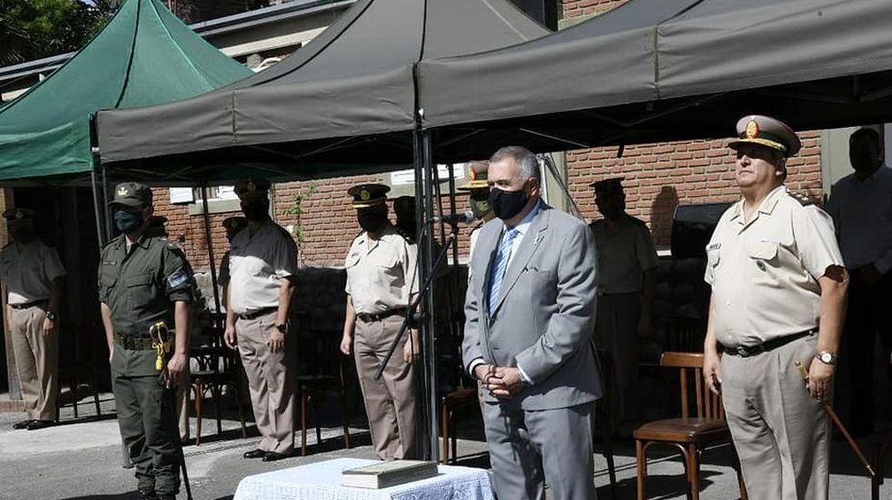 Jaldo presidió el acto de asunción del nuevo jefe de Gendarmería en Tucumán