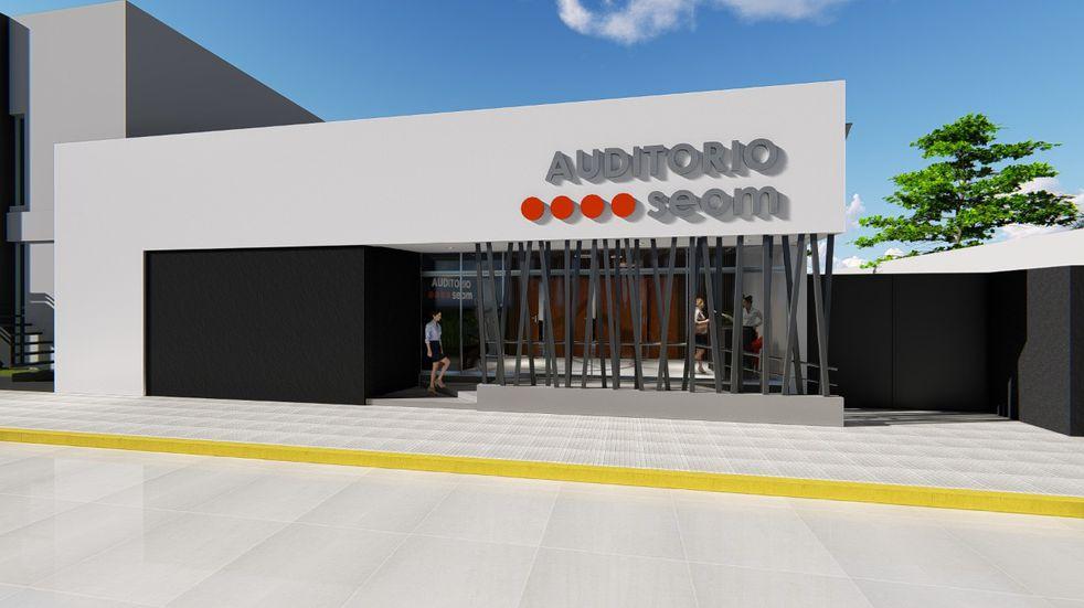 El SEOM construye un auditorio en su sede