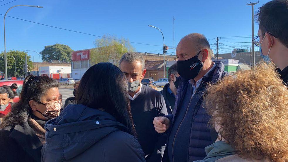 """Omar Perotti dijo que la seguridad en Rosario es lo que """"llevará más tiempo"""""""
