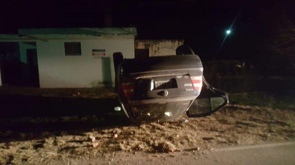 San Isidro: tumbó con su vehículo tras esquivar un caballo