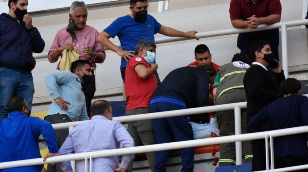 Un dirigente de Güemes se descompensó en el estadio durante el partido con Instituto y murió
