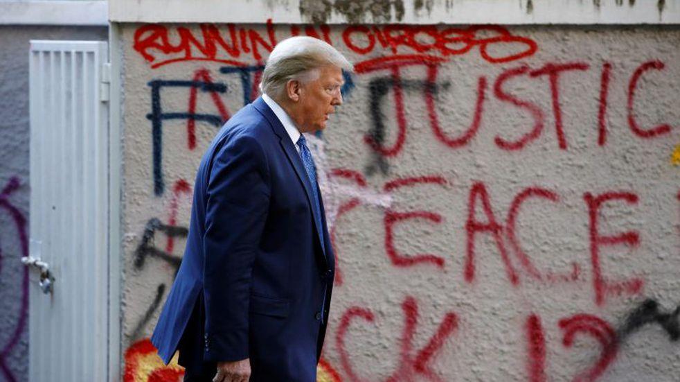 Después de las protestas, Trump anunció el despliegue de miles de soldados en Washington