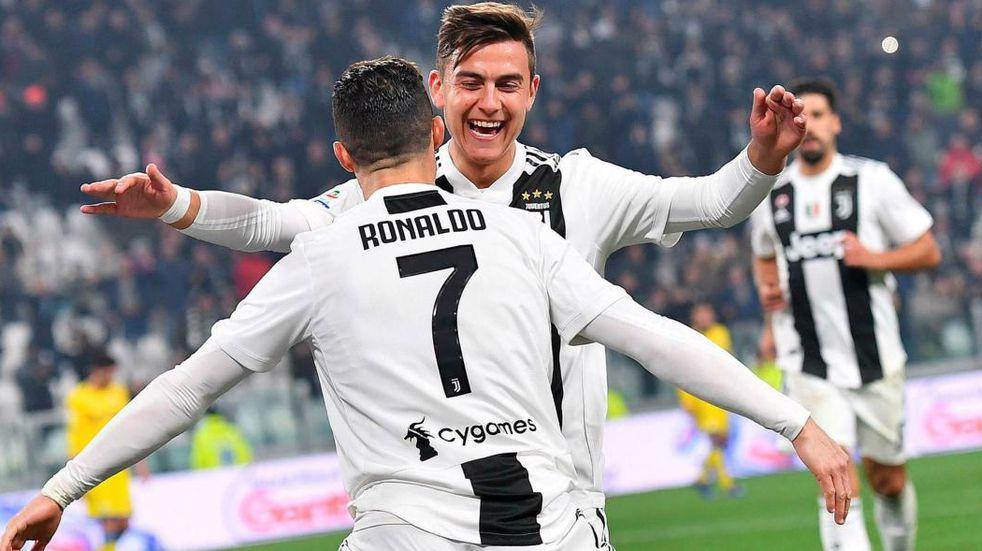 La emotiva despedida en redes de Paulo Dybala a Cristiano Ronaldo