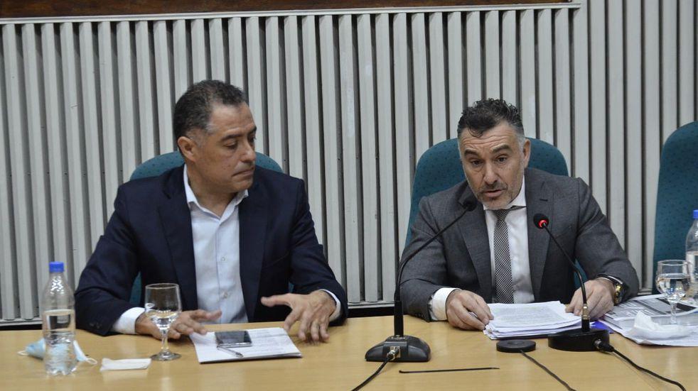 Ante el informe de gestión de gobierno, Ricci lamentó que los diputados del oficialismo hayan malgastado sus minutos de consulta