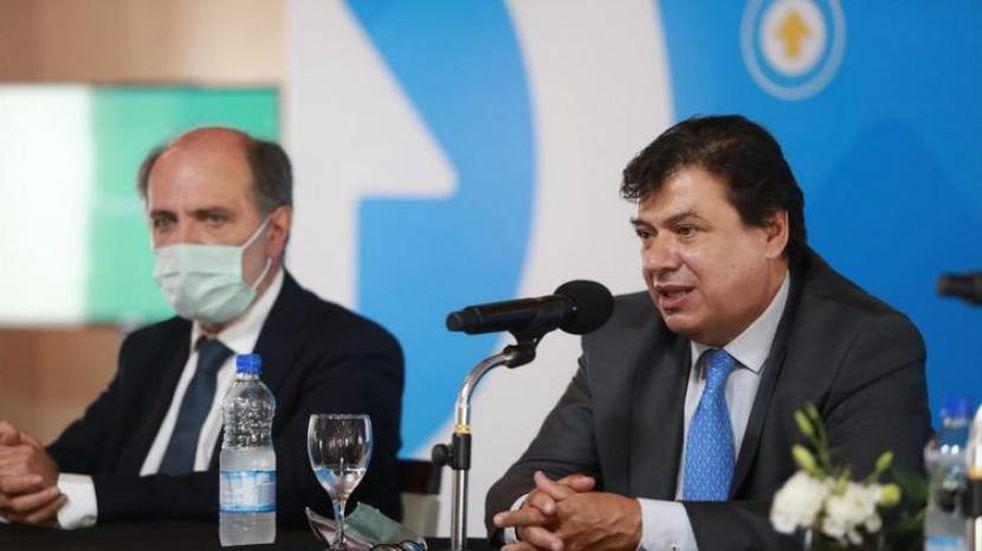 """Visita presidencial: Moroni afirmó que """"el Gobierno seguirá asistiendo a los sectores que lo necesitan"""""""