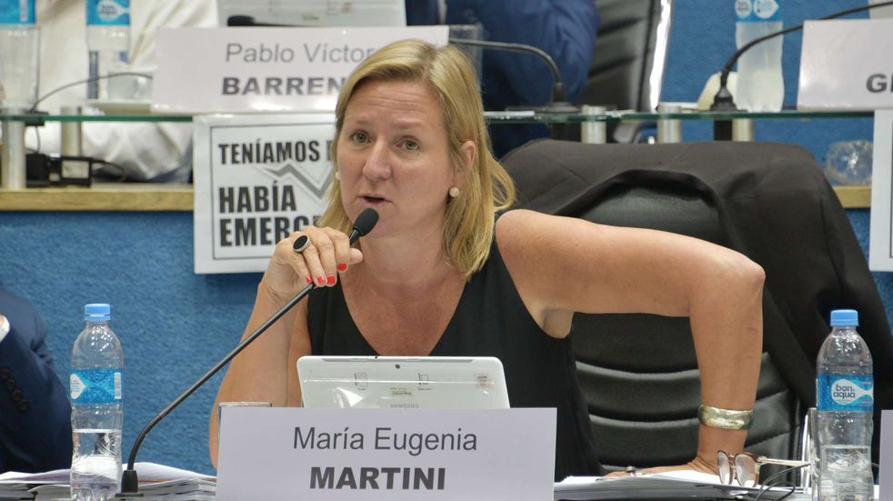 Imputaron a la exintendenta de Bariloche, María Eugenia Martini, por defraudación al Estado