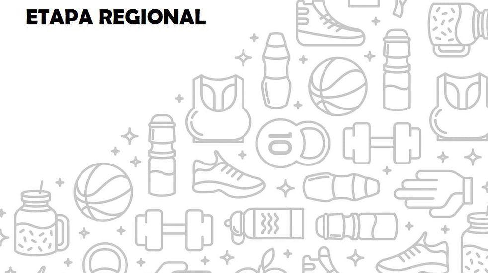 JUEGOS BONAERENSES:ETAPA REGIONAL