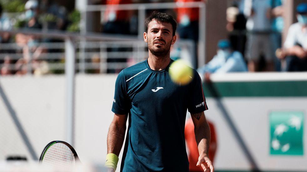 La decepción del Topo Londero por lo que fue debut y despedida en Roland Garros