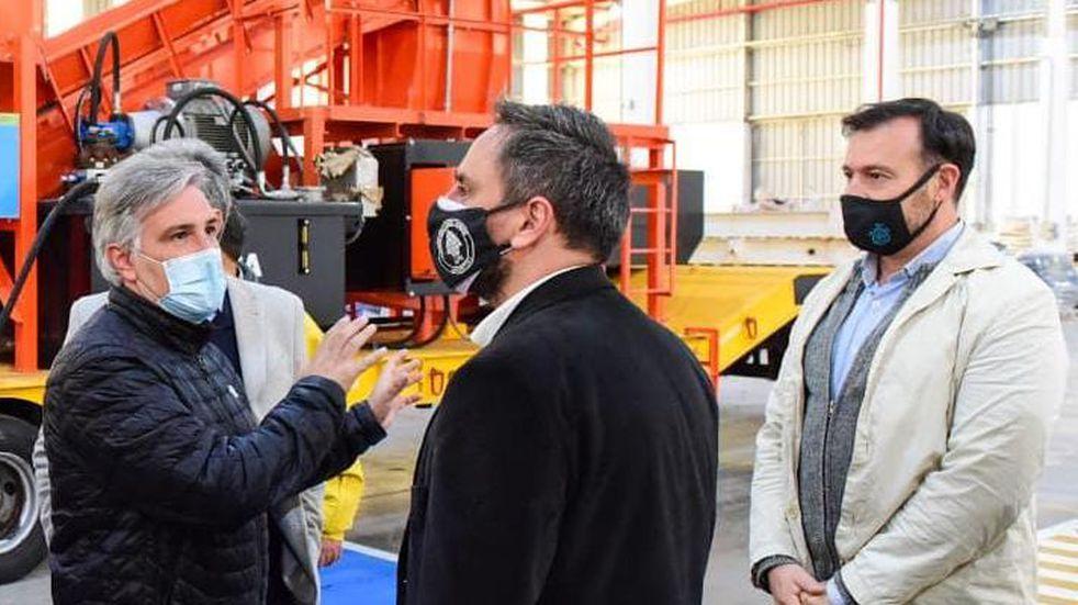 La Municipalidad de Córdoba recibió maquinaria para la gestión de residuos