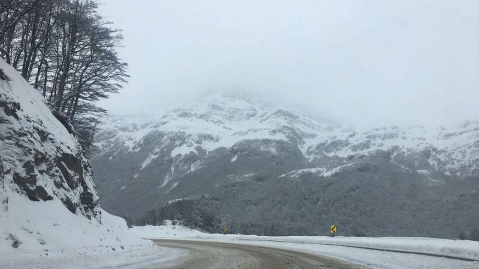 Ushuaia recibió octubre con la nevada más importante de la temporada