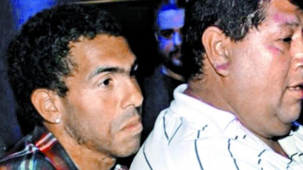 Carlos Tevez y su padre