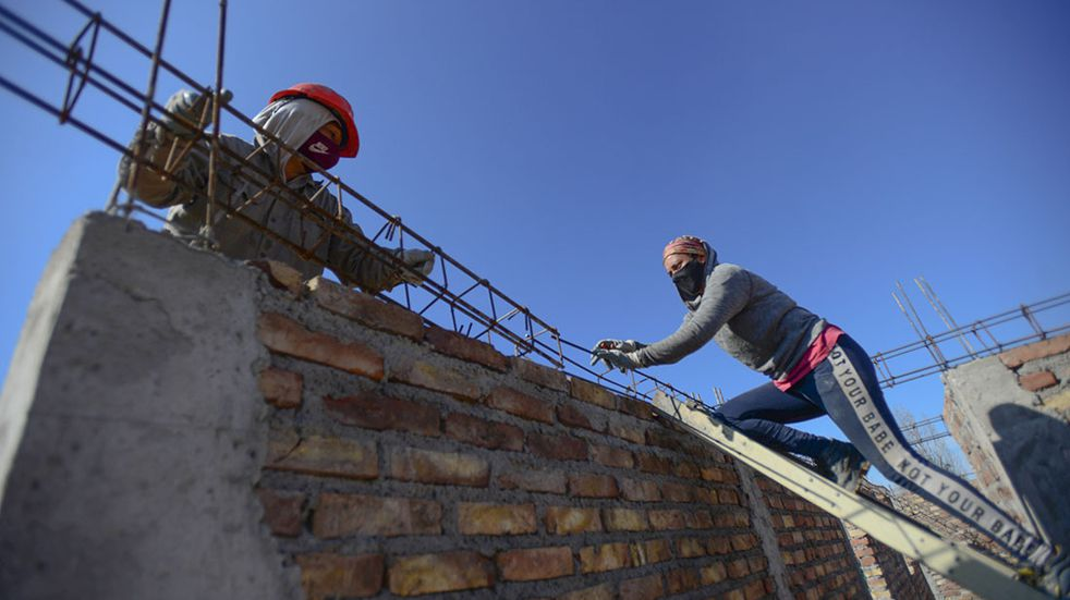Mi Pieza, el crédito de hasta $240.000 para arreglar la casa. (Foto: Claudio Gutiérrez)