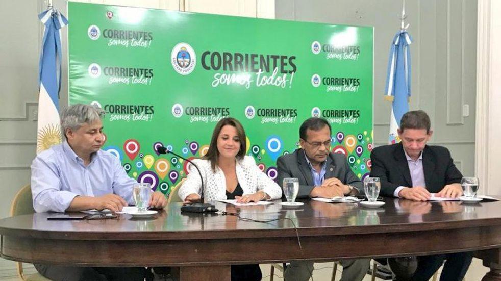 El Gobierno presentó medidas de contención social para la provincia