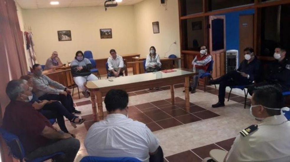Cuarentena: se reunió el Comité de Emergencia de Puerto Libertad