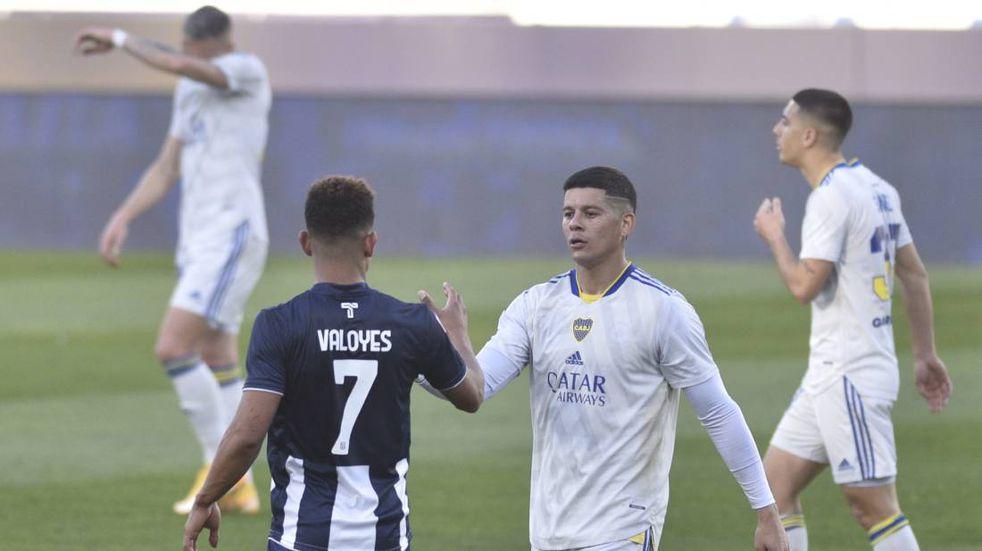 """Diego Valoyes y la """"falta de eficacia"""" en el empate con Boca"""