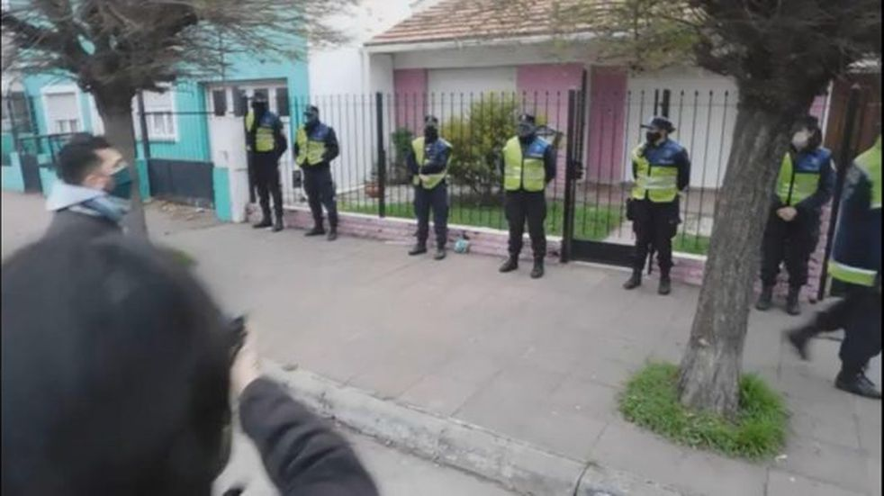 Necochea: falleció la mujer atropellada por un borracho y se manifestaron pidiendo justicia