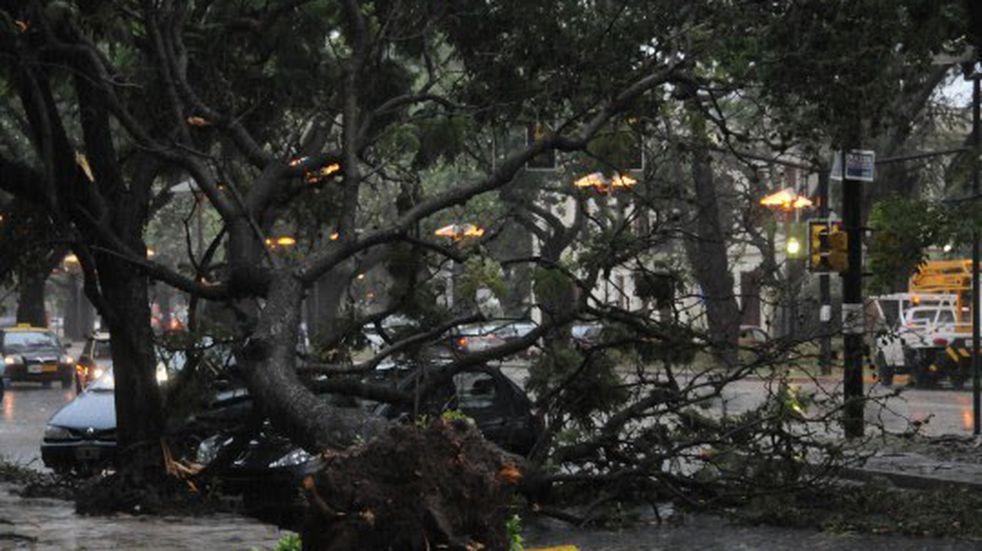 Con ráfagas de viento que superan los 70 kilómetros por hora renovaron alerta meteorológico