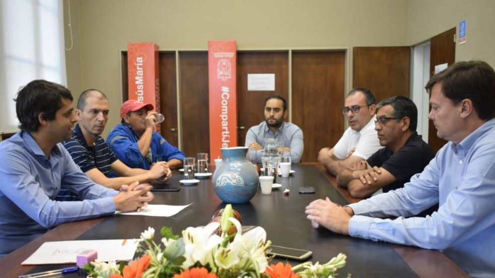 Jesús María: trabajadores municipales firmaron la paritaria semestral