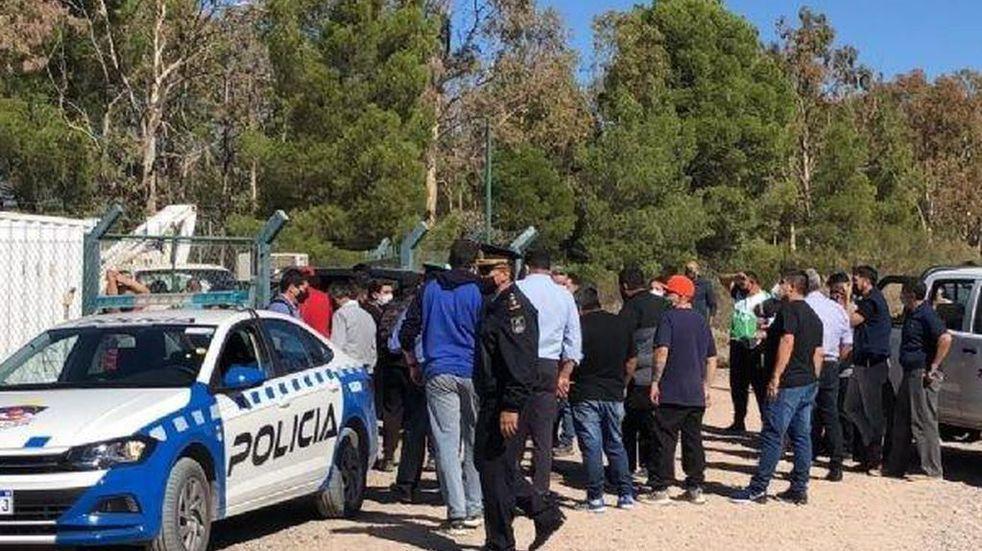 Claude Staicos habló sobre el ataque de ATE a la planta trasmisora en Neuquén