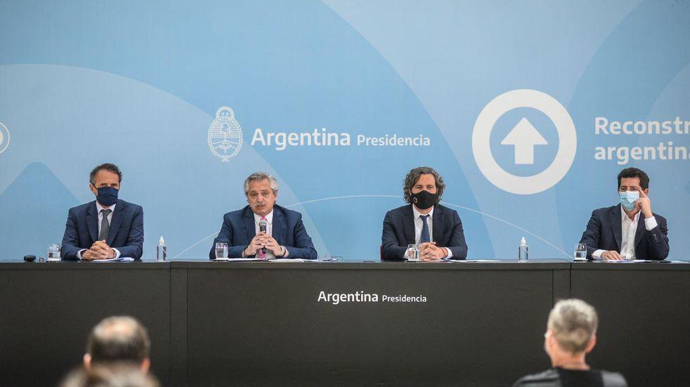 Alberto Fernández inauguró con Schiaretti obras de repavimentación en Córdoba