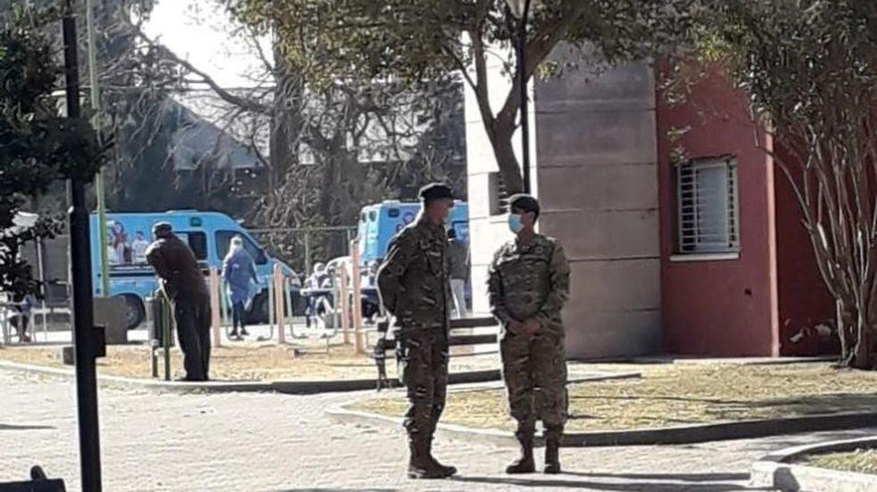 Coronavirus en Oliva: Gendarmería y el Ejército Argentino arribaron a la ciudad