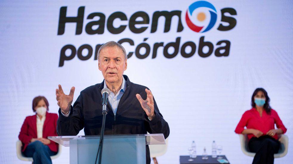 Elecciones 2021: Juan Schiaretti encabezó un masivo acto virtual