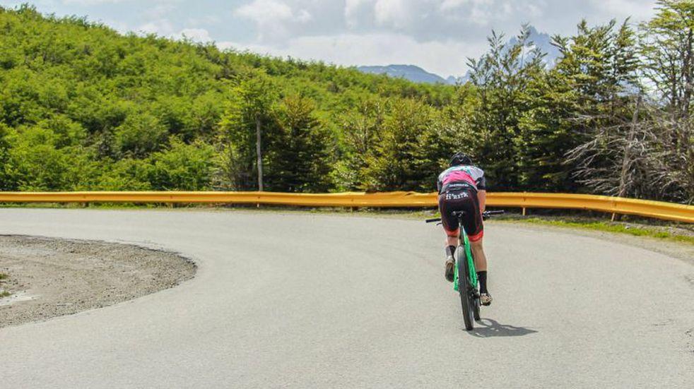 Vuelta al deporte en Ushuaia: se llevó a cabo la primera prueba de ciclismo contrarreloj