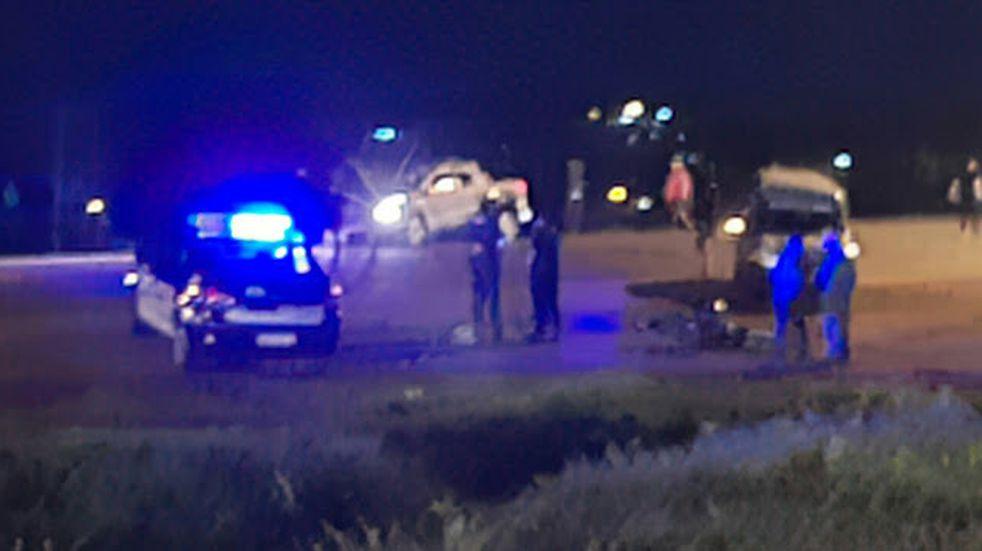 Accidente vial en San Vicente terminó con un joven lesionado