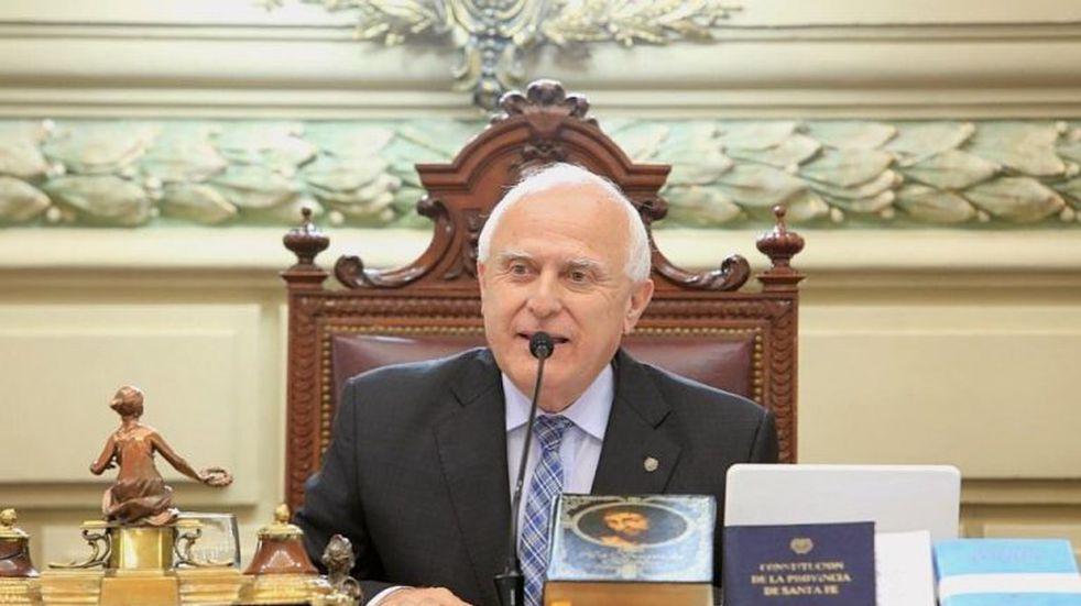 Lifschitz celebró el discurso de Fernández y se despidió de los santafesinos en redes