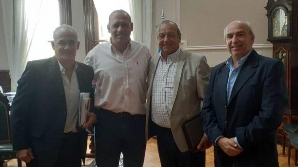 El Intendente Sánchez se reunió con Berni