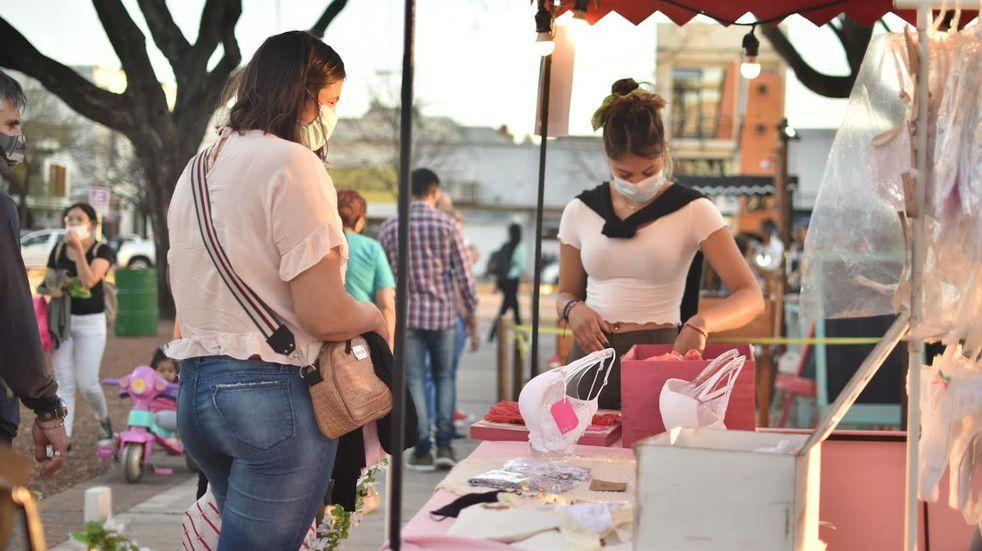 Plaza Feria en Rafaela