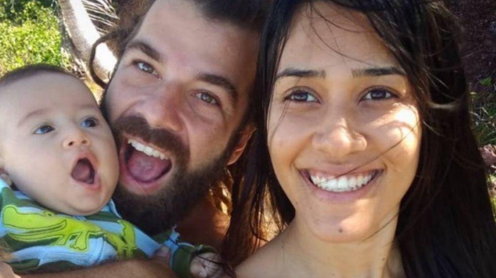Tragedia en una playa de Brasil: una familia murió sepultada tras un derrumbe de un acantilado