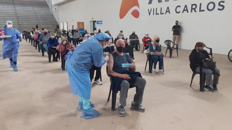 Nueva jornada de vacunación contra el Covid-19 este martes en Carlos Paz