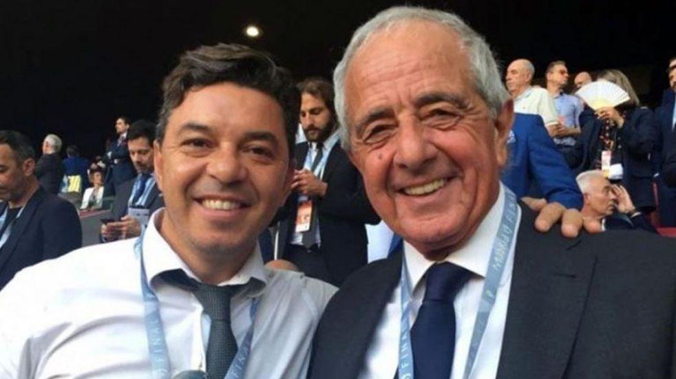 Rodolfo D'Onofrio dejó en claro que Marcelo Gallardo tiene contrato con River hasta 2021