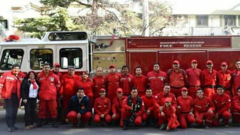 Bomberos Voluntarios de Las Heras al servicio de la comunidad