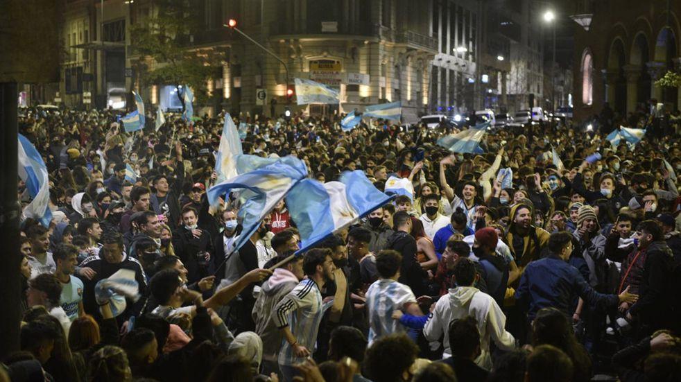Argentina campeón de la Copa América: la otra cara de los festejos en Córdoba