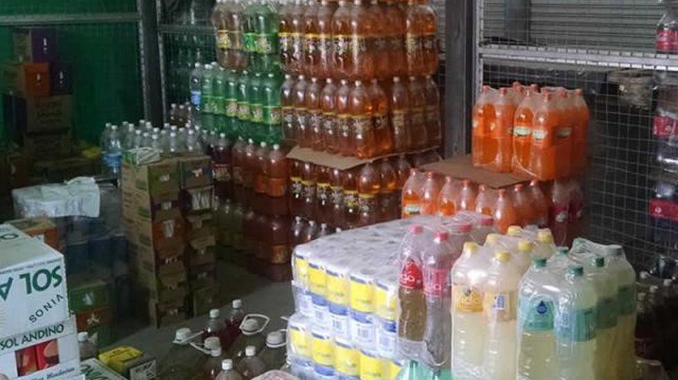 Robaron un depósito de gaseosas en Marcos Juárez