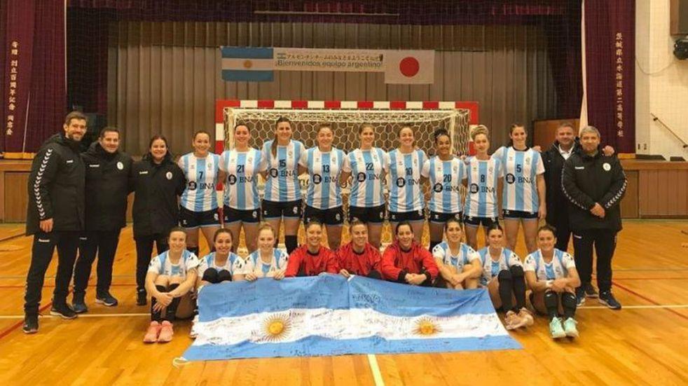 La Selección Argentina debuta en el Mundial de Handball Femenino de Japón