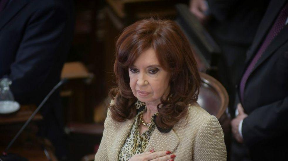 """Cristina Kirchner acusó a la oposición de """"judicializar la política"""" y de querer """"paralizar"""" el Senado"""