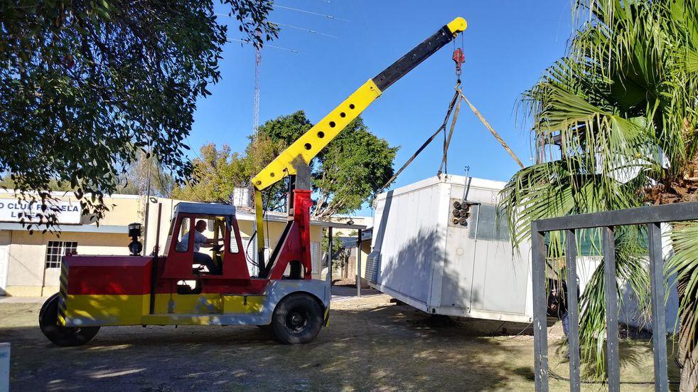 Telecom le donó un shelter al Radio Club y será el nuevo Museo de la Radiofonía