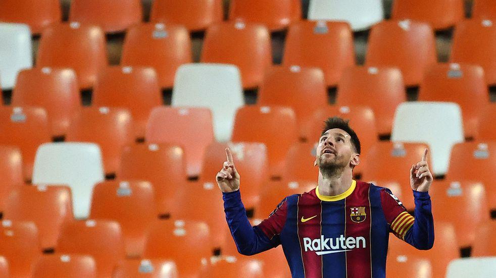 """Lionel Messi, a un paso de un nuevo récord: puede ser el """"Pichichi"""" por quinta vez consecutiva"""