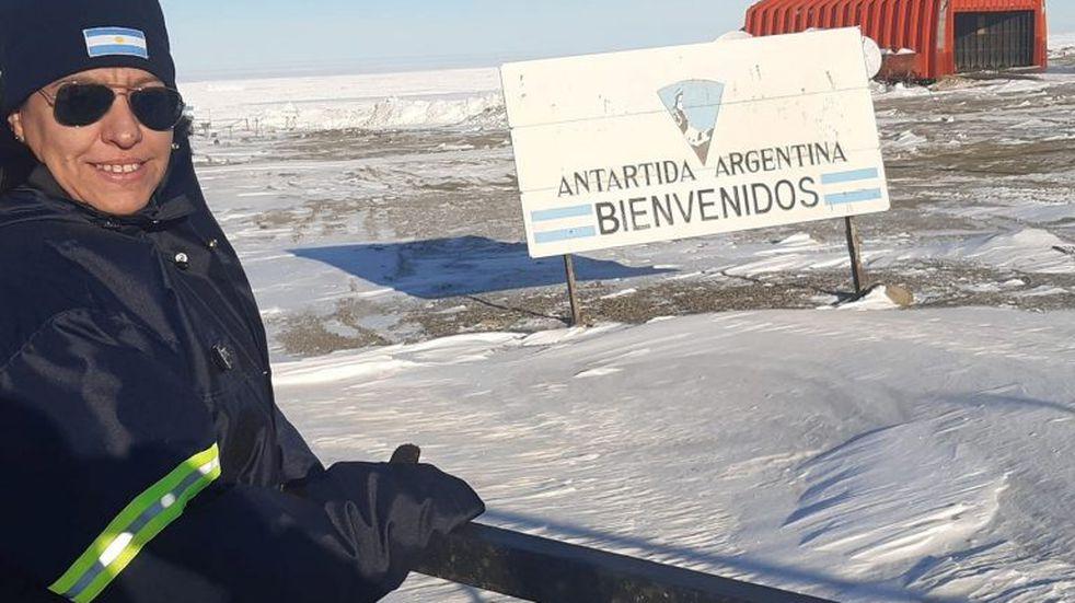 Mariana Castro, la suboficial mendocina y su experiencia en la Antártida