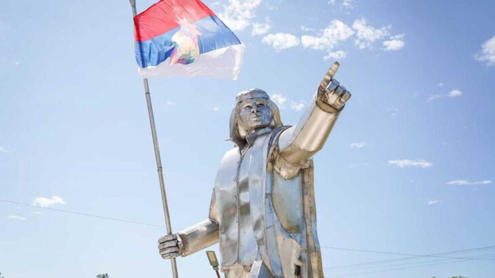 El municipio de San Javier también contará con un monumento a Andrés Guacurarí,.